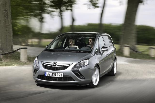 Opel Zafira Tourer - Für die eilige Familie