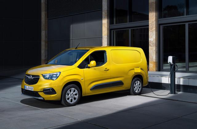 Opel Combo-e Cargo - Bestellstart für Elektrokasten
