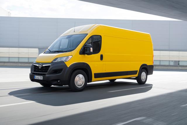 Bestellstart für Opel Movano - E-Antrieb als Top-Version