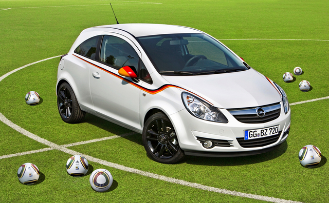 Sondermodell Opel Corsa WM Edition