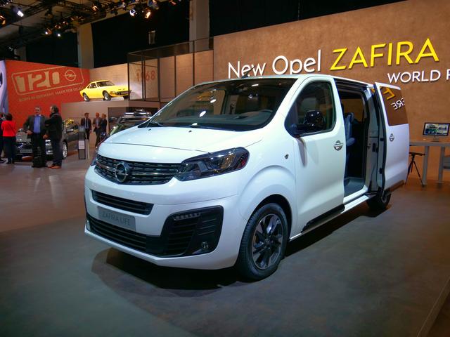 Opel Zafira Life - Gleicher Name, neues Konzept