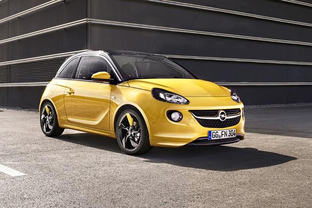 Opel Adam Cabrio - Offene Sparversion