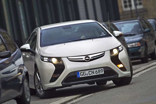 Opel Ampera - Grüner Strom für das E-Auto