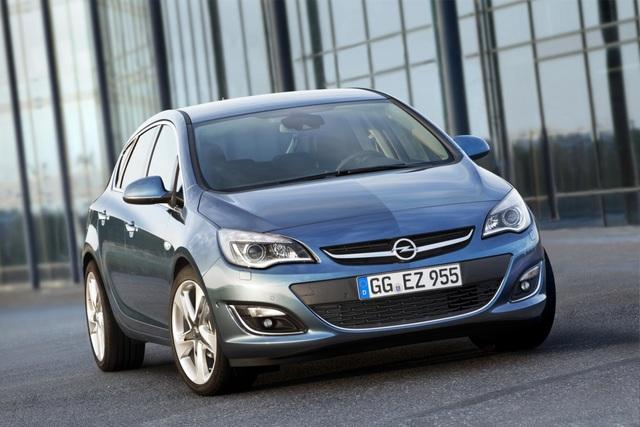 Opel Astra - Kraftkur vor dem Golf-Start