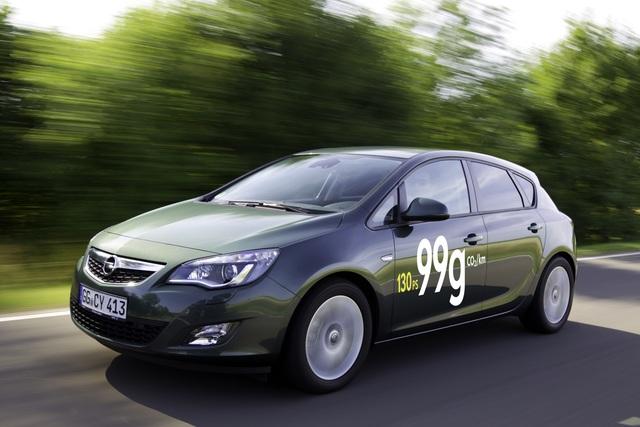 Opel Astra Ecoflex - Viel Kraft, wenig Durst