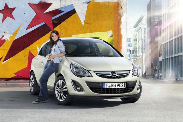 Opel Corsa Satellite - Frohe Botschaft