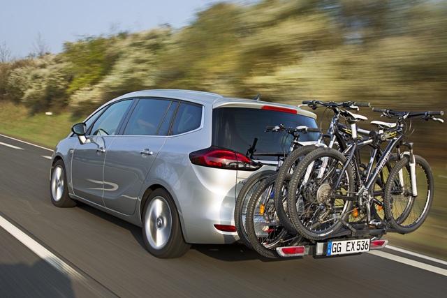 Opel-Fahrradträger - Für die ganze Familie und für E-Biker