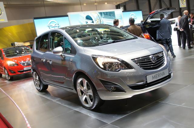 Opel Meriva ab 15.900 Euro erhältlich