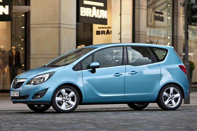 Elektrischer Opel Meriva - Fingerübung der Ingenieure