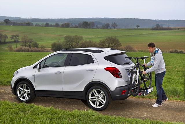 Opel Mokka - Huckepack-Halter für den Drahtesel