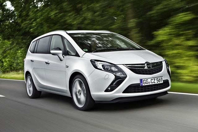Opel Zafira Tourer CNG - Günstig Gas geben