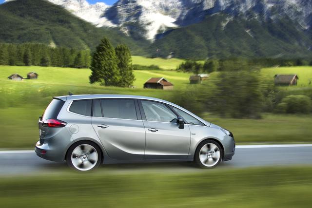 Opel Zafira Tourer 1.6 CDTI - Weniger Hubraum, weniger Verbrauch