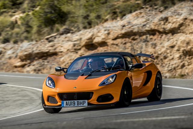 Fahrbericht: Lotus Elise Cup 250  - Je oller, je doller