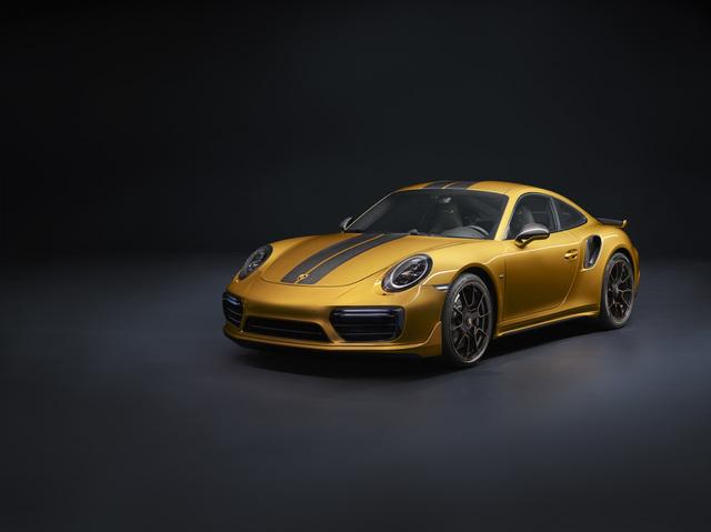 Porsche 911 Turbo S Exclusive Series - Seltenes Goldstück