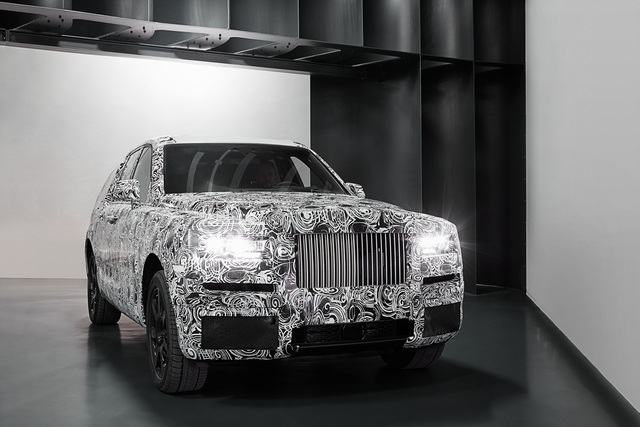 Rolls-Royce Project Cullinan - Das SUV, das keins sein will