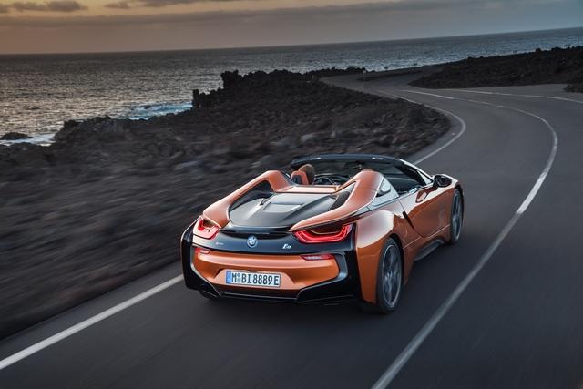 BMW i8 Roadster - Saisonal geöffnet