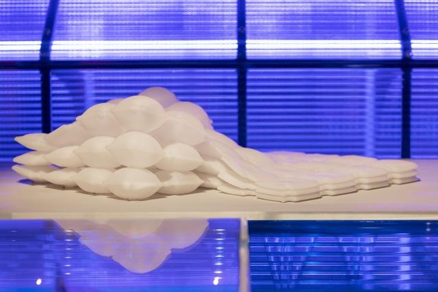 3D-Material von BMW  - Für den wandelbaren Innenraum