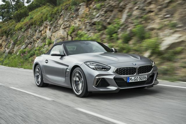 BMW Z4 - Stoffdach-Roadster startet im März
