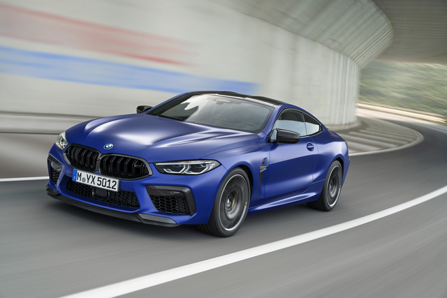 BMW M8 - In Deutschland nur extra stark