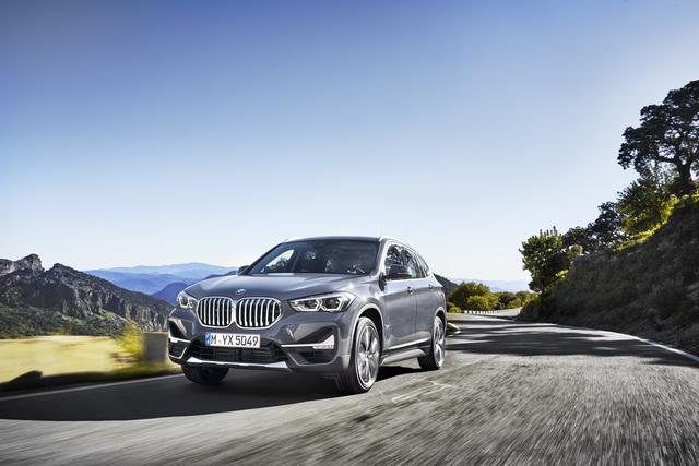 BMW X1 - Größe Niere und Plug-in-Technik