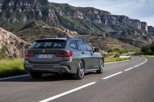 BMW 3er Touring - Nicht riesig, aber clever