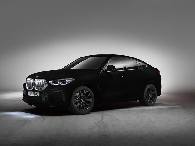 Neuer BMW-Lack - Schwärzer als schwarz