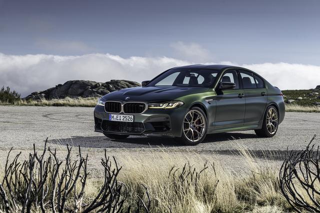 BMW M5 CS - Leicht und stark