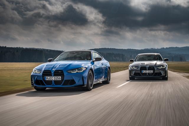 BMW M3 und M4 Competition   - Jetzt auch mit Allrad