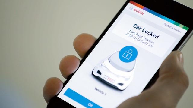 Handy als Autoschlüssel - Smart gestartet