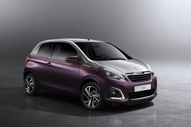 Peugeot 108 und Co. - Mehr Lifestyle wagen