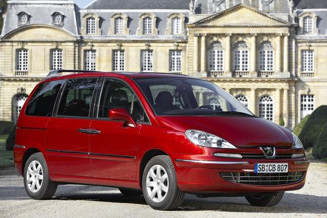 Peugeot 807 - Nur noch eine Variante