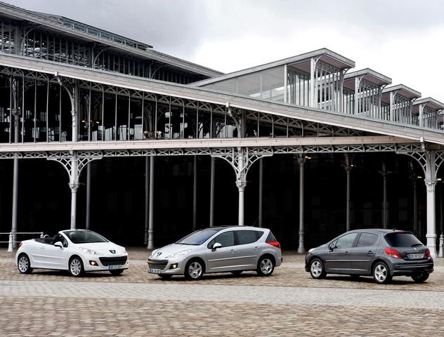 Peugeot 207 mit neuen Euro-5-Motoren