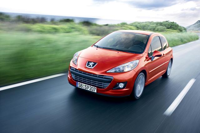 Peugeot-Sondermodell 207 Sportium spart 800 Euro