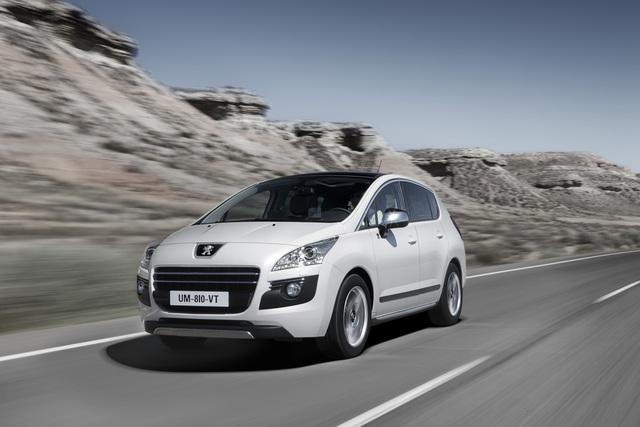 Peugeot 3008 Hybrid4 - Duett mit Diesel (Kurzfassung)