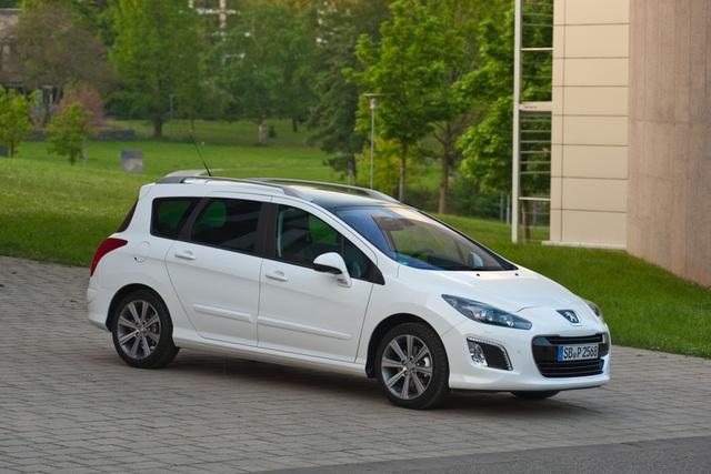 Peugeot 308 SW - Neues Geschäfts-Modell