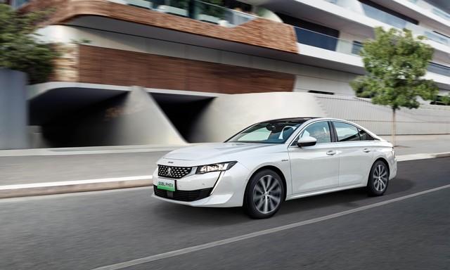 Neues Peugeot-Flaggschiff  - Power-Limousine für China