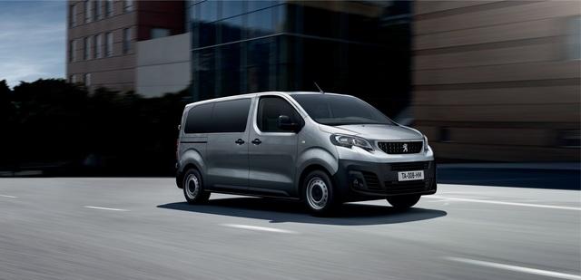 Peugeot Expert Kombi - Mehr Komfort dank Automatik-Diesel