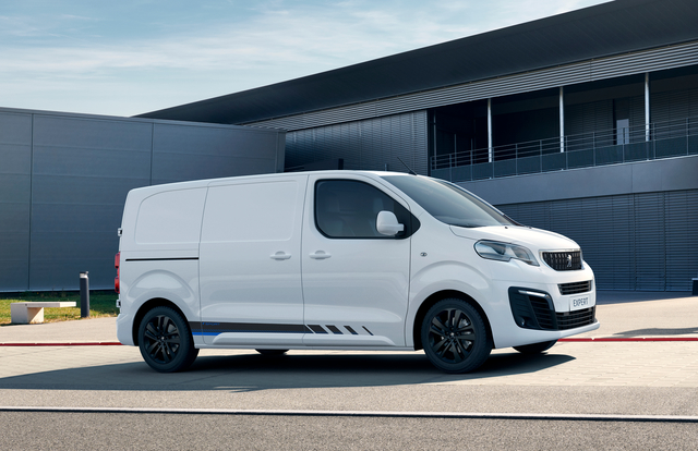 Peugeot Expert Sport Edition - Dynamisch auf Montage