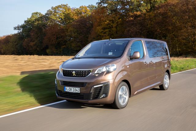 Peugeot Traveller und Expert Kombi - Neuer Automatik-Diesel