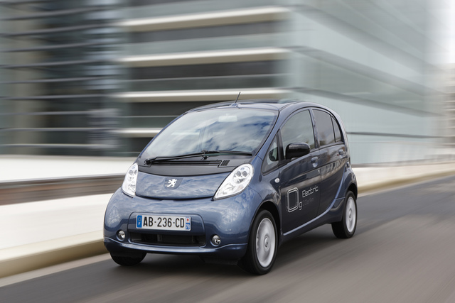 Peugeot Ion - Elektroauto zur Miete