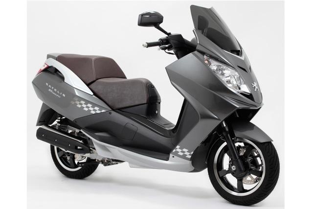 Peugeot Scooter-Modelle - Frühlingsgefühle für null Prozent