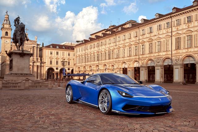 Pininfarina Battista leicht modifiziert - Mehr Eleganz, weniger Luftwiderstand