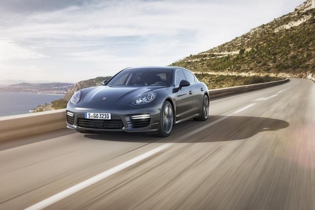 Porsche Panamera Turbo S - Der Druck steigt