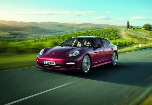 Porsche Panamera: Erweiterte Basis