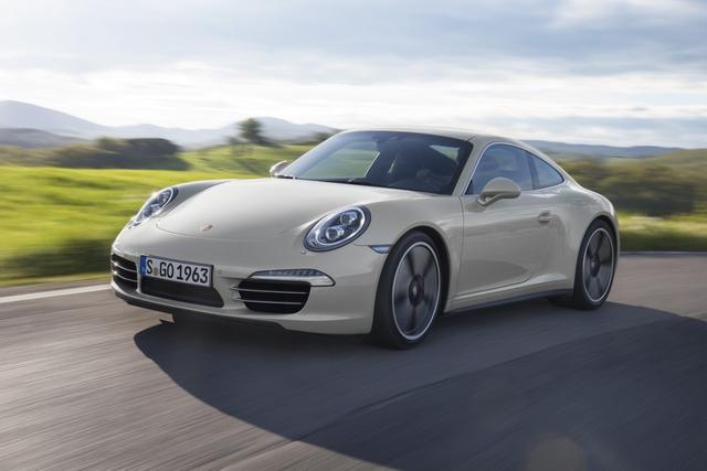 Porsche 911 Jubiläumsmodell - Geburtstag mit Geschenk