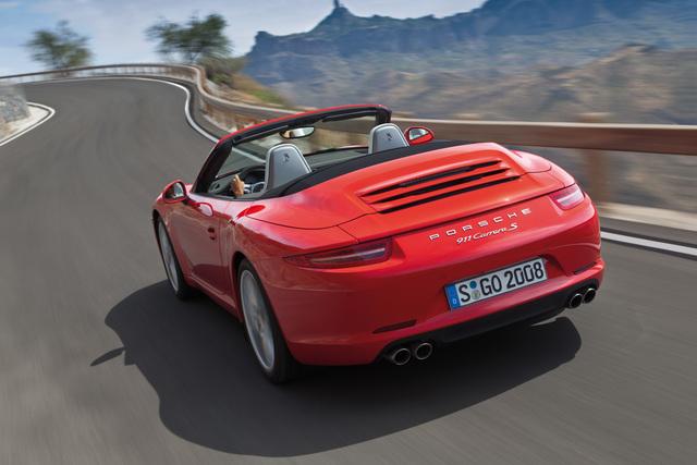 Porsche 911 Cabrio - Vergnügliche Luftaufnahme (Kurzfassung)