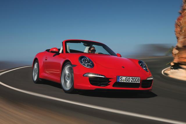 Sportwagen und Cabrios 2012 - Fahrspaß für das neue Jahr