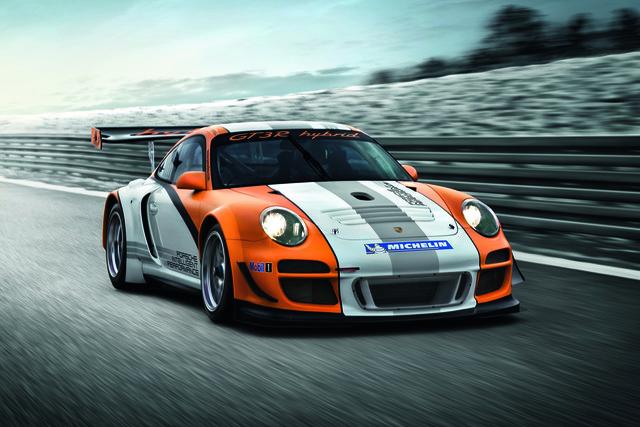 Porsche KERS-Hybrid - Für die Straße kein Thema