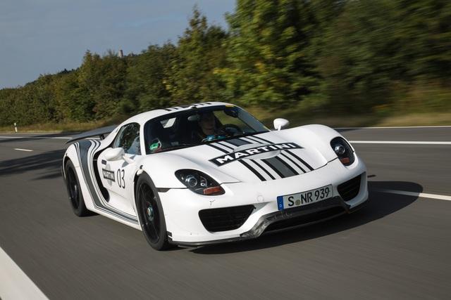 Panorama: Porsche 918 Spyder - Vorspiel in der Grünen Hölle