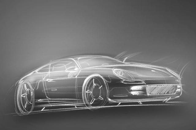 Großes Coupé von Porsche?